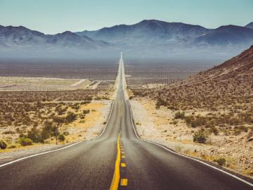 Wohnmobil Reise: Highway