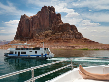 Reise USA Westen -  Lake Powell Bootstour