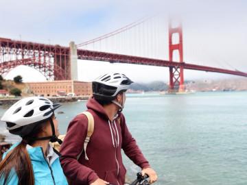 Reise USA: Golden Gate Bridge San Francisco