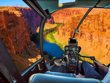 USA Grand Canyon Flug