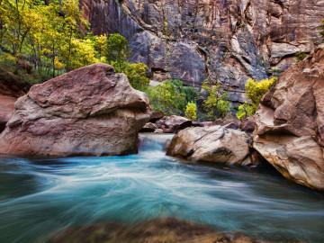 Reise USA: Zion Nationalpark - Virgin Narrows Fluss