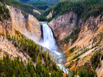 Reise Nordamerika: Yellowstone Nationalpark