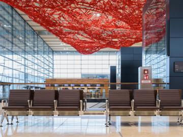 Berliner Flughafen,Warteterminal; CC: BER