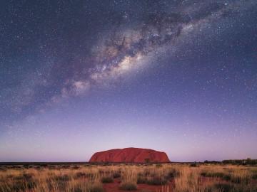 Sternenhimmel über Uluru - Rotes Zentrum CC: Explorrer Ways