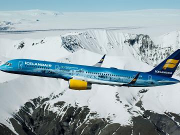 Flugzeug von IcelandAir; CC: IcelandAir