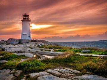 Kanada Leuchtturm St. Margarets bay; CC: Nova Scotia