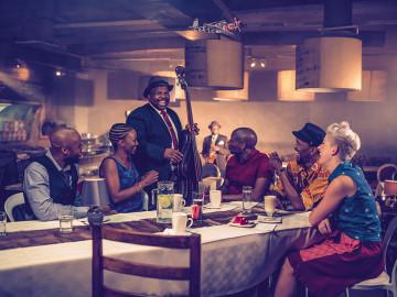 Innenansicht Jazz Club Südafrika - Copyright South Africa