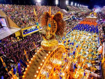 Karneval Rio de Janeiro im Sambodrom