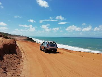 Mietwagen entlang Brasiliens Nordostküste