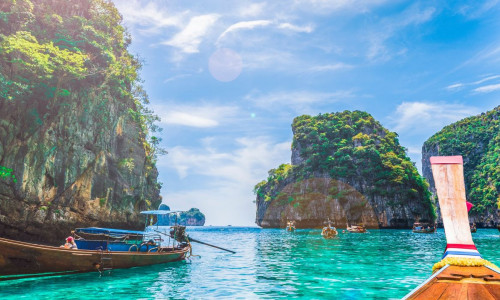 Thailand Halong Bucht