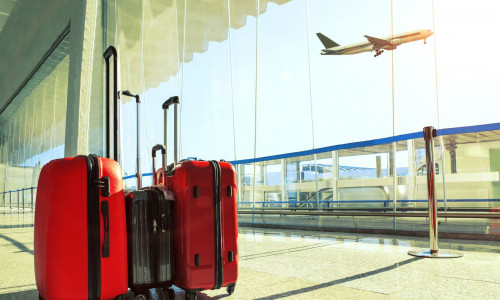 Flughafen Warteterminal